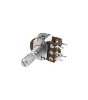 Potenciometro Rotativo Duplo 500Kr - 1620500KD