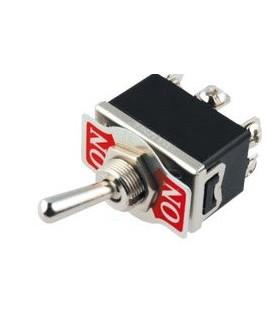 Interruptor Alavanca Grande 2 Circuitos 1 Inversor 10A/250V - 9142C1INVG10A