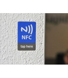 Printed NFC Stickers 42x27mm NFC  NTAG203 - MXPNFCS42X27