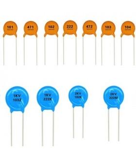 Condensador Ceramico 220pF 3000V - 332203KV