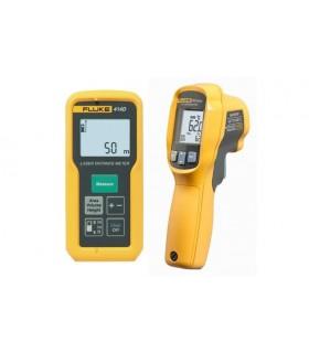 Fluke 414D/62MAX - Laser Distance Meter/Infrared Thermometer - FLUKE414D/62MAX