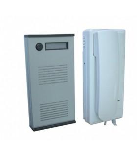 ES0150 - Audioporteiro 1 platina + 1 combinado de interior - ES0150