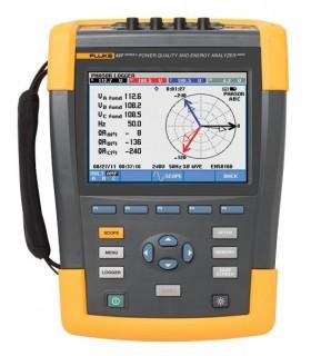 Fluke 437-IIBasic - 400 Hz Power Quality and Energy Analyzer - FLUKE437-IIBASIC