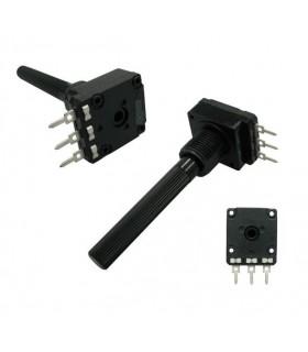 Potenciometro Rotativo C/Veio 1K - 16201K