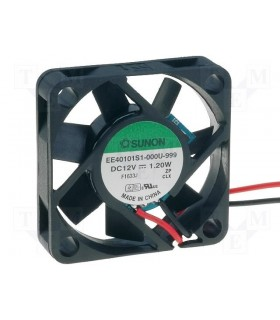 EB40101S2-999 - Ventilador 12VDC; 40x40x10mm; 13.6m3/h; 32dB - EB40101S2-999