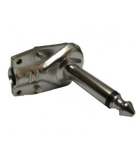 Jack 6.35 Mono MAcho Metalico 90º - J6MMMAR