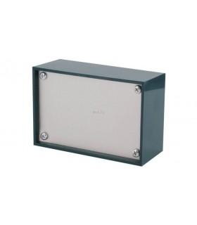 Teko P/3 - Caixa Plástico ABS c/painel Aluminio 160x96x61 - P/3