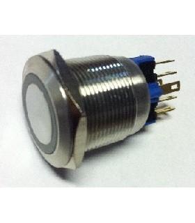 V22-21R-24R-S -Switch Vandal Resistant 2-Position SPST-NO - V22-21R-24R-S