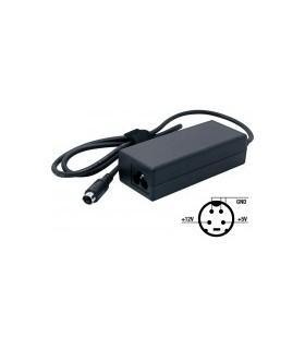 Fonte de alimentação 5VDC + 12VDC 2.0A 24W mini-DIN 4 pinos - ALM035