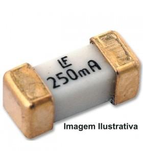Fusivel SMD Fusão Lenta 4A, 125VAC,125VDC, 6,1x2,7x2,7mm - 6224D