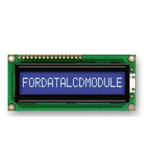 FDCC1601E-NSWBBW-91LE - DISP 16X1 STN LCD, 3V, WHT LED B/L - FDCC1601E