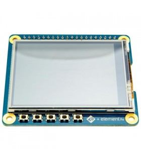"4DPI-24-HAT - 2.4"" HAT DISPLAY FOR RASPBERRY PI - 4DPI-24-HAT"