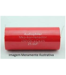 Condensador Polipropileno 10uF, 600Vdc, Horizontal - 31610U600H
