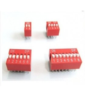 Dil Switch 8 Interruptores - 914DS8