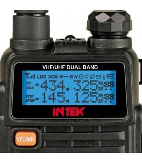 KT-960PLUS - Rádio portátil VHF/UHF Amador - INTEKKT960