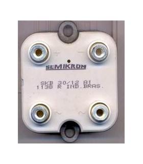 SKB30/16A1 - Ponte Rectificadora 30A 1600V - SKB30/16A1