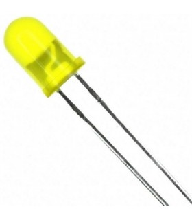 Led 5mm Amarelo - 1245Y
