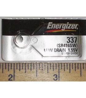 337 - Pilha Óxido de prata 1.5V, Ø4.8x1.6mm, SR416SW - 169SR337