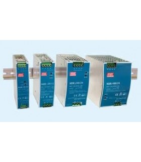 NDR-120-12 - Fonte Calha Inp. 90-265Vac Out.12Vdc 10A 120W - NDR-120-12