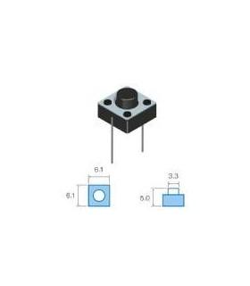 SW072 -Pulsador Circuito Impresso 6x6mm, SPST - SW072