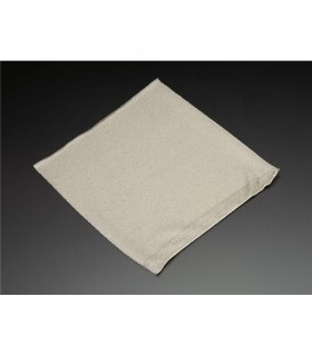 ADA1167 - Knit Conductive Fabric - Silver 20cm square - ADA1167