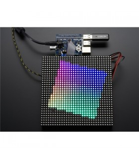 ADA2345 - Adafruit RGB Matrix HAT + RTC for Raspberry Pi - ADA2345