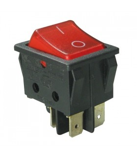 Interruptor Basculante Duplo Com Luz - 914BDL