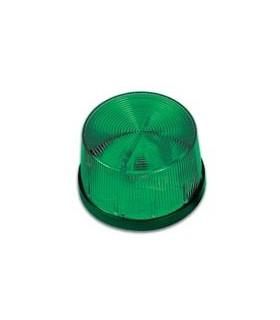 HAA40G - Strobo Verde 12Vdc 70x46mm - HAA40G