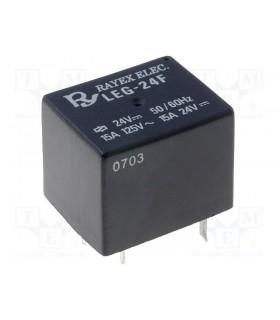 LEG-24 - Rele 24Vdc, 10A, SPDT - LEG24