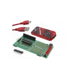 DV164130 - Development Board, PIC16/18F, PICKit-3 - DV164130
