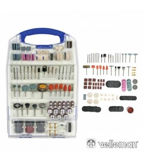 VTHDS6 - Conjunto de 188 Acessorios Para Mini Berbequim - VTHDS6
