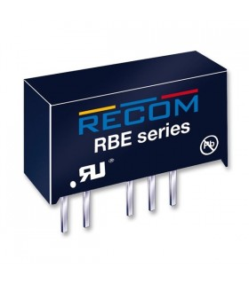RBE-0505S - Isolated Board Mount DC/DC Converter 5V 0.2A 1W - RBE0505S