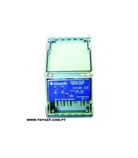 TVF-203 - Amplificador Mastro, 3 Ent. BI/BIII+UHF+UHF - TVF203