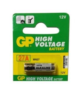 GP27A - Pilha 12V P/Comandos Alarme - 169GP27A