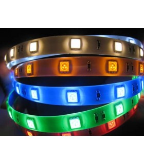 Fita LED 12V Azul- SMD5050-30 IP65 7.2W Preço/metro - LL290/S