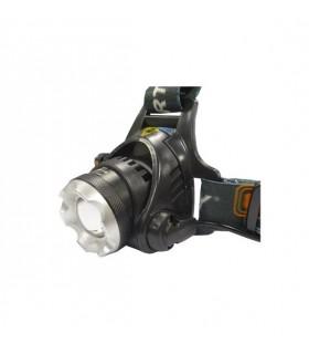 LANTERNA DE CABEÇA 1 SUPER LED T6 10W 500LM ZOOM - MX36054