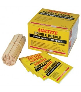 LOCTITE 1303596 - Double Bubble Epoxy 3g PK50 - LOCTITE1303596