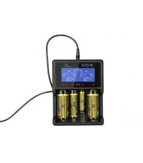 XTARVC4 - Carregador de 4 Pilhas Li-ion/NI-MH - XTARVC4