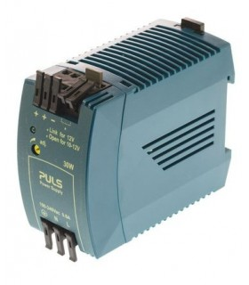 In 85-264Vac, Out 12Vdc 2.5a 30w, Single Phase, Calha DIN - ML30.102