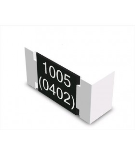 Condensador Ceramico Smd 100nF 16V Caixa 0402 - 33100N16V0402