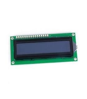 Display LCD STN Negativo 16x2 Azul - C1602D