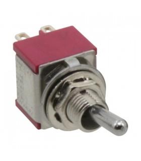 Interruptor alavanca 2circ.  3 posições estáveis - ON-OFF-ON - 9142C3P