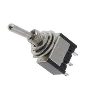 Interruptor de alavanca 2 posições estáveis - ON-OFF-(ON) - 9141C3P1T