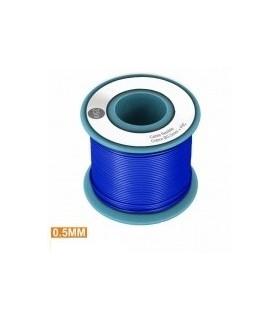 PKCU05/25Bl - Rolo de Cabo Unifilar Azul 0.5mm Rolo 25Mts - PKCU05/25BL