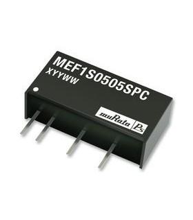 MEF1S0505SP3C - Isolated Board Mount DC/DC Converter - MEF1S0505SP3C