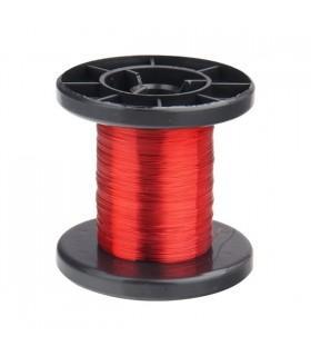 DNLD15-0 - Arame Esmaltado de Cobre 0,15mm Vermelho - DNLD15-0