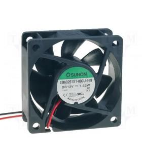 Ventilador Sunon 12Vdc 60x60x25mm - V126