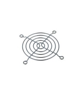 Grelha Para Ventilador 9X9cm Preta - GV9B