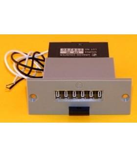 C-8415 - Contador Electro Mecanico 6 Digitos Com Reset - C-8415