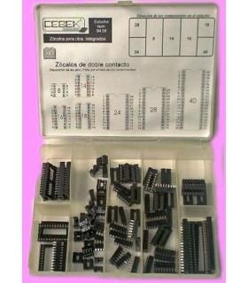C-9458 - Caixa com 89 Suportes para IC - C-9458